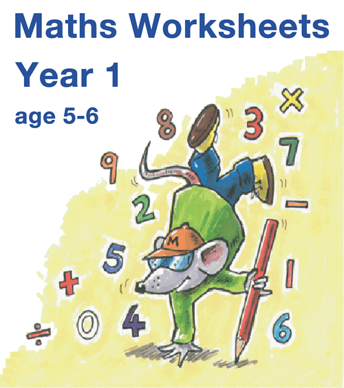 Year 1 Maths Worksheets