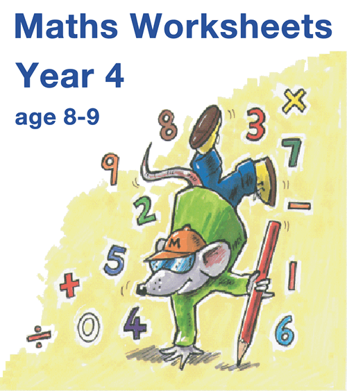 Year 4 Maths Worksheets
