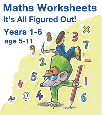 Years 1 to 6 Maths Worksheets